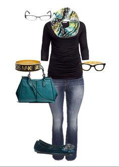 H&M plus size + Coach + Kate Spade = super cute!
