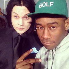 jack white. tyler the creator. This is a lot for one photo.