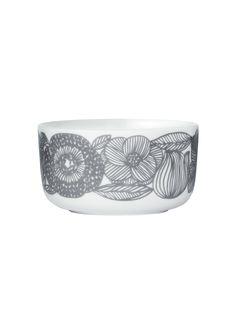 Marimekko Kurjenpolvi Geranium Bowl | Bowls | Dining Room | Heal's