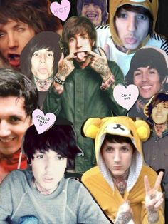 Oliver Sykes <3 <3 <3 <3 <3