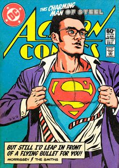 Post - Punk New Wave Super-Heroes - Superman
