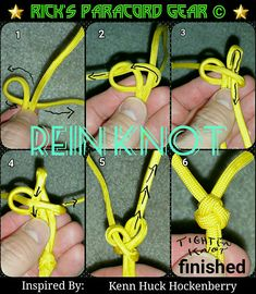 Here is a cool knot i learned i wanted to share so here it is