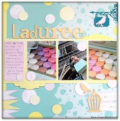 Layout Laduree Paris