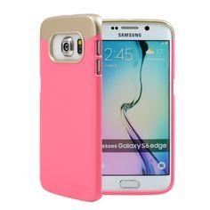 Accent Blush/Gold Galaxy S6 Edge Case