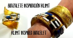 Vídeo tutorial de brazalete inspiración Klimt
