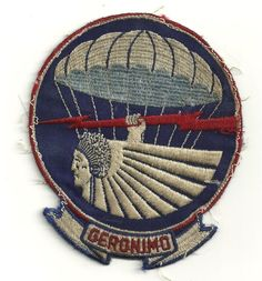 Original WW2 era Geronimo 501st Airborne Patch