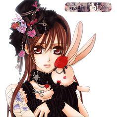 Render yuuki yuki VK vamipre knight lapin - Vampire Knight - Animes et... ❤ liked on Polyvore featuring anime