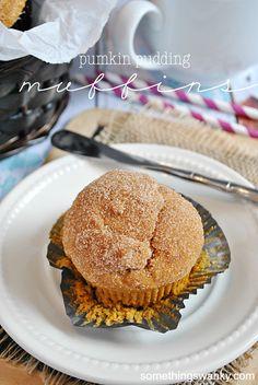 Pumpkin Pudding Muffins