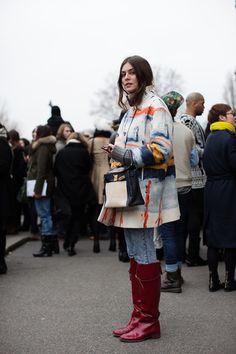 On the Street .. More Helena, Paris ?The Sartorialist
