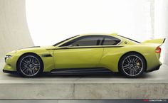 BMW 3.0 CSL 'Hommage' Concept Car Revealed