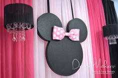 Dream Makers Events & Party Rentals 's Birthday / Minnie Mouse Polka dots - Photo Gallery at Catch My Party Girls 3rd Birthday, Polka Dot Birthday, Minnie Birthday, Birthday Diy, Birthday Parties, Minie Mouse Party, Minnie Mouse Pink, Kids Party Decorations, Party Ideas
