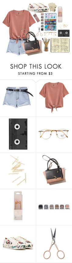 """""""Geen titel #33"""" by espirex ❤ liked on Polyvore featuring H&M, Moleskine, Luckies, Persol, Forever 21, Nasty Gal, Anastasia Beverly Hills and CARGO"""
