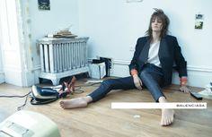 Balenciaga SS 2012. Photographer: Steven Meisel. Models: Laura Kampman, Juliane Grüner, Kirstin Liljegren & Rosie Tapner