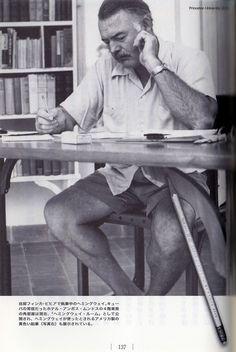 Hemingway & I write the first article with 2B pencil  Habitual use product work  ヘミングウェイの愛用品/仕事篇 〜第一稿は2B鉛筆で書く〜