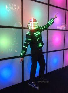 #painel LED acionado por controle remoto by #FOLYLED