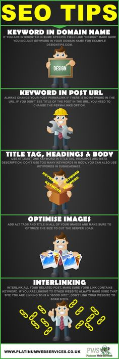 SEO Tips | infographic