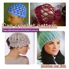 Delicadezas en crochet Gabriela: Cap crochet pattern