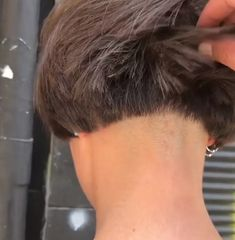 Great Hairstyles, Short Hairstyle, Bob Hairstyles, Short Blunt Bob, Short Bobs, Pixie Styles, Hair Styles, Buzz Cut Women, Clipper Cut