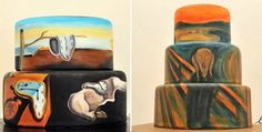 These cakes inspired by famous paintings belong in a museum