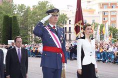 """Los Reyes Felipe VI y Letizia presidieron los actos con motivo del """"Día de las Fuerzas Armadas 2016"""" #DIFAS16  28-05-2016"""