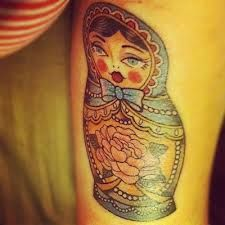 matryoshka tattoo - Buscar con Google