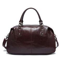 men's large capacity travel bag 100% Genuine leather vintage travels big bags suitcase handbag man messenger shoulder bag 1094