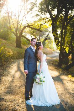 Deya + Kevin || Saddle Rock Ranch Wedding || Malibu, Ca — Irish Grzanich Photography  rustic wedding, bride and groom