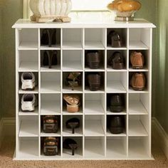 Modern Shoe Storage Ideas, Maybe In A Big Walkin Closet :)
