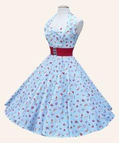 Vivien of Holloway Halterneck Dresses SALE | 1950s Dresses from Vivien of Holloway