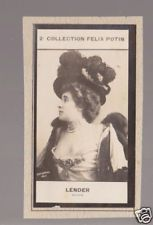 MARCELLE LENDER Actress 1908 FRANCE FELIX POTIN CARD