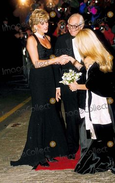 C/n 020785 11-20-1995 Bbc Tv Interview Night Gala/cancer Research Charity, St James , London Princess Diana Photo By:dave Chancellor-alpha-Globe Photos, Inc 1995
