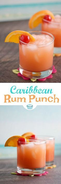 Nadire Atas on Drinks to Relax Brighten your cold winter days with a Caribbean Rum Punch! It's the perfect cure for shoveling snow and braving freezing cold temperatures outside. © 2017 COOKING WITH CURLS Fancy Drinks, Bar Drinks, Non Alcoholic Drinks, Cocktail Drinks, Yummy Drinks, Cocktail Recipes, Bourbon Drinks, Drinks With Rum, Fruity Mixed Drinks