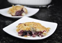 Blackberry Cobbler -