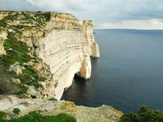 Sanap Cliffs, Island of Gozo, Malta // hiking trails, travel