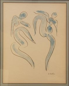 "Henri Matisse ""Dancers"" lithograph - lovely"