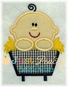 jesus embroidery | Baby Jesus Machine Embroidery Applique Buy 1 by JustPeachyApplique, $4 ...