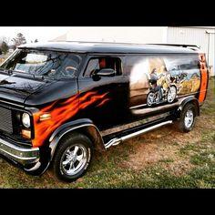 Chopped Custom Van