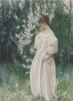 Contemplation by Arthur Hacker