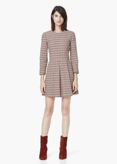 JACQUARD DRESS #style #fashion #trend #onlineshop #shoptagr