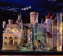 Een sprookjeskasteel als poppenhuis