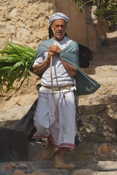 Omani man photographed (location unknown) by CharlesFred via Flickr