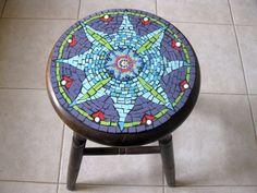 My Mandala on a Stool