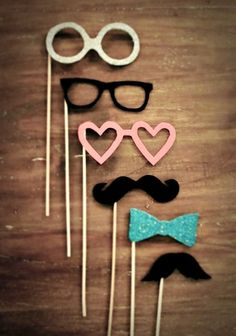 Hipster Love Bow Mustache...could be a party theme :P