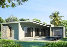 Type B villa rear