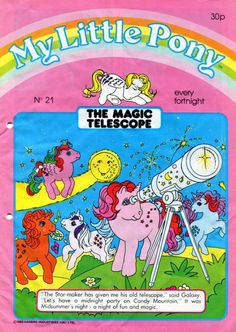 My Little Pony Vintage - Magazine