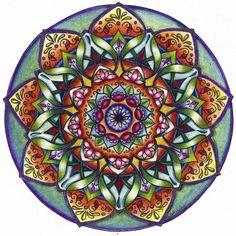 Mandala Painting and Movement - Painted Bride