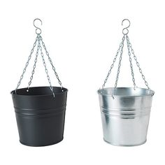 $4.99 HÖSTÖ Hanging planter IKEA Galvanized; protects the product against corrosion. Weather-resistant and durable.