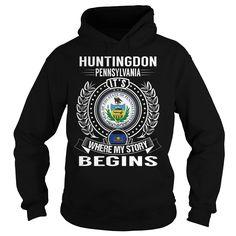 Huntingdon, Pennsylvania Its Where My Story Begins