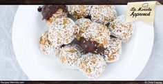 This healthy Carrot Cake Protein Balls recipe is a good example of the Paleo Diet, filled with high-quality protein and healthy fat that can be enjoyed after a workout. http://recipes.mercola.com/carrot-cake-protein-balls-recipe.aspx