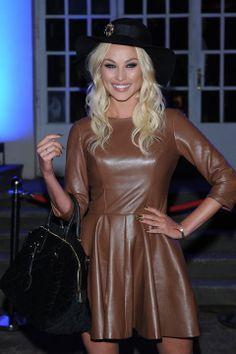 Weronika Książkiewicz na pokazie kolekcji Bizuu (sezon jesień-zima 2013/14)